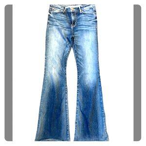 Hudson baby flare jeans!  Worn once.  Super soft.